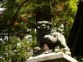[神社][狛犬]鬼無里神社 - 長野市鬼無里