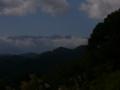[風景]小川村プラネタリウム館駐車場から北アルプス