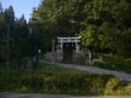 [神社][鳥居]白髭神社 - 長野市鬼無里祖山