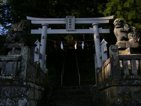 白髭神社 - 長野市鬼無里祖山