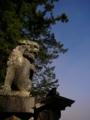 [神社][狛犬]白髭神社 - 長野市鬼無里祖山