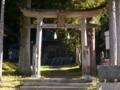 [神社][鳥居]加茂神社 - 長野市鬼無里東京