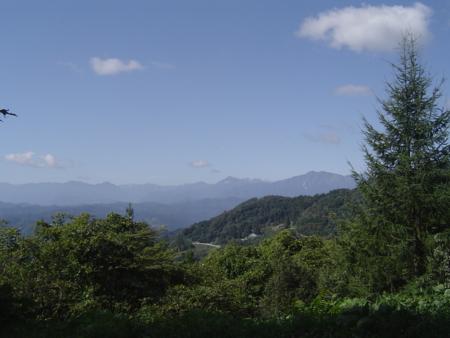 虫倉神社から南方