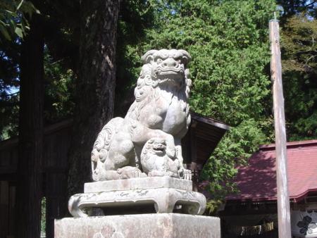 小根山小川神社 - 小川村