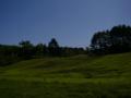 [風景]中山高原キャンプ場 蕎麦畑?