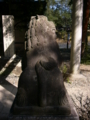[神社][狛犬]大王神社 - 松本市大王わさび農場内
