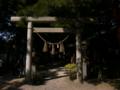 [神社][鳥居]大王神社 - 松本市大王わさび農場内