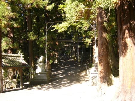 神明宮 - 安曇野市豊科田沢