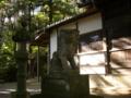 [神社][狛犬]御射神社春宮 - 松本市浅間温泉