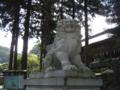[神社][狛犬]諏訪大社 上社前宮