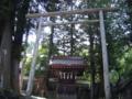 [神社][鳥居]不明 上社の東側大鳥居のそば