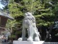 [神社][狛犬]諏訪大社 上社