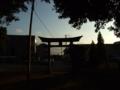[鳥居][神社]諏訪神社 - 八千代市八千代台西