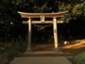 [神社][鳥居]諏訪神社 - 八千代市八千代台西