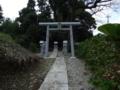 [神社][鳥居]猿田彦神社 - 印旛村岩戸
