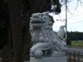 [神社][狛犬]猿田彦神社 - 印旛村岩戸
