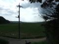 [神社][風景]印旛村瀬戸 稲荷神社からみた風景