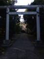[神社][鳥居]下立松原神社 - 南房総市白浜町滝口