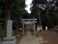 [神社][鳥居]香取神社 - 八千代市保品