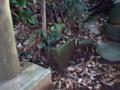 [神社][手水舎]水盤 道祖神社 - 八千代市麦丸