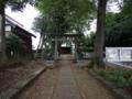 [神社][鳥居]八幡神社 - 千葉県八千代市新木戸