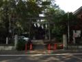 [神社][鳥居]葛谷御霊神社 - 東京都豊島区西落合