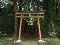 [神社][鳥居]白山神社 - 千葉県市原市飯給