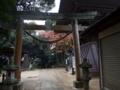 [神社][鳥居]飯綱神社 - 千葉県八千代市ゆりのき台