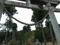 [神社][鳥居]諏訪神社 - 千葉県市原市原田
