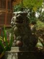 [神社][狛犬]熊野神社 - 千葉県長生郡長南町蔵持