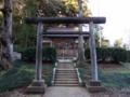 [神社][鳥居]伊豆神社 - 千葉県酒々井町飯積