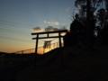 [神社][鳥居]御嶽神社 - 千葉県八千代市米本辺田