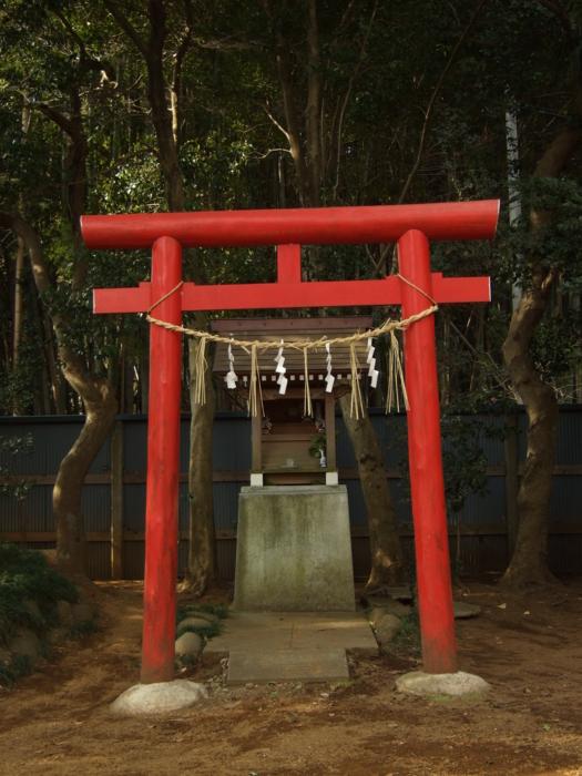 稲荷社 - 阿夫利神社境内社 - 千葉県八千代市島田台