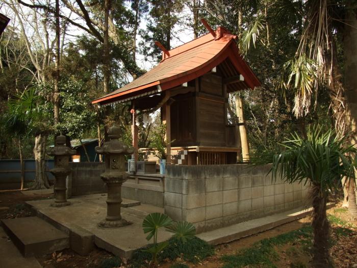 阿夫利神社 - 千葉県八千代市島田台