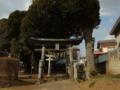 [神社][鳥居]熱田神社 - 千葉県八千代市平戸