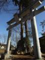 [神社][鳥居]日宮神社 - 千葉県八千代市米本字逆水