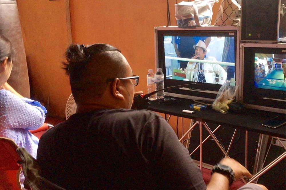 タイの映画撮影現場に迷い込む!俳優さんが優しすぎて撮影を見学させてもらいました。