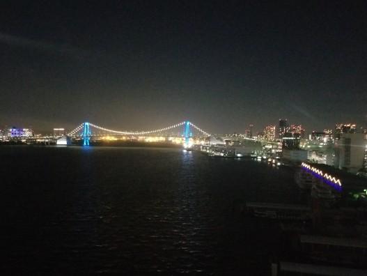 インターコンチネンタル東京ベイからの夜景