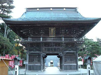 竹駒神社 楼門(随身門)