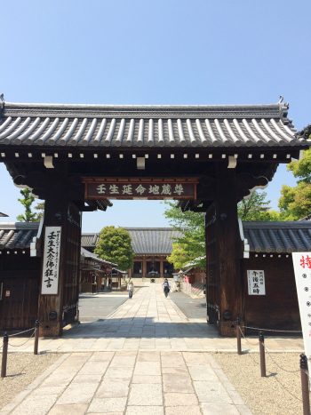 壬生寺の入り口