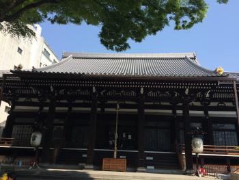 本能寺の正面