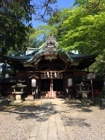 粟田神社の正面