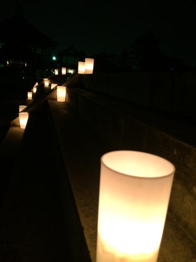 興福寺で雰囲気のある写真に挑戦