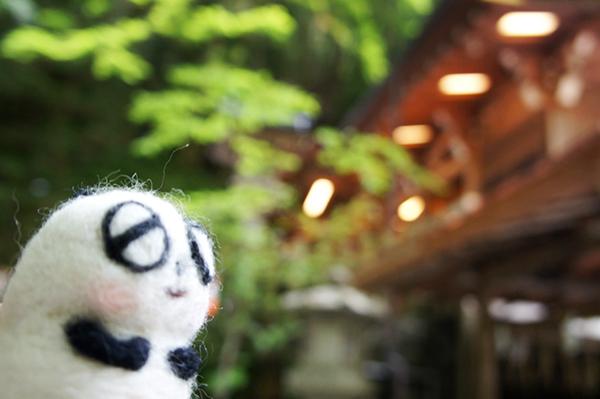 貴船神社とパンダ様