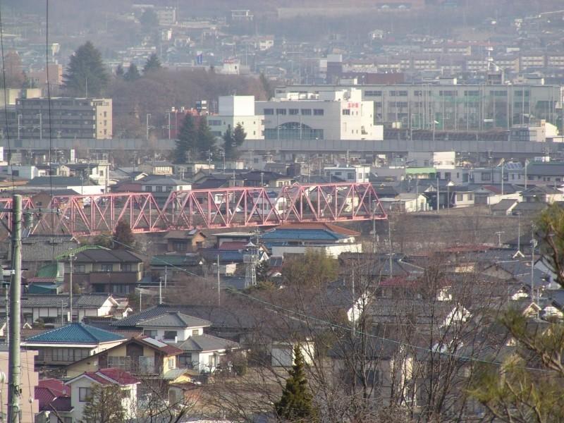 別所線千曲川橋梁 2006/04/10