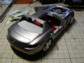 レベル メルセデスSLS AMG作成中。