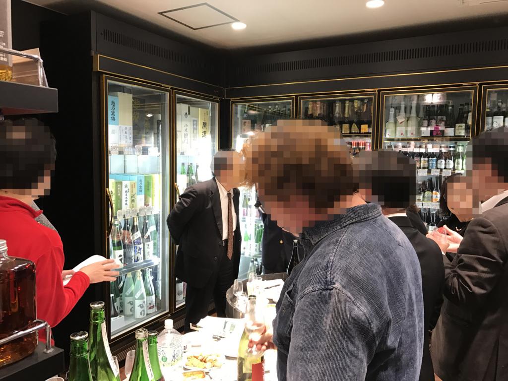 太田酒造 利き酒会 呑み比べ
