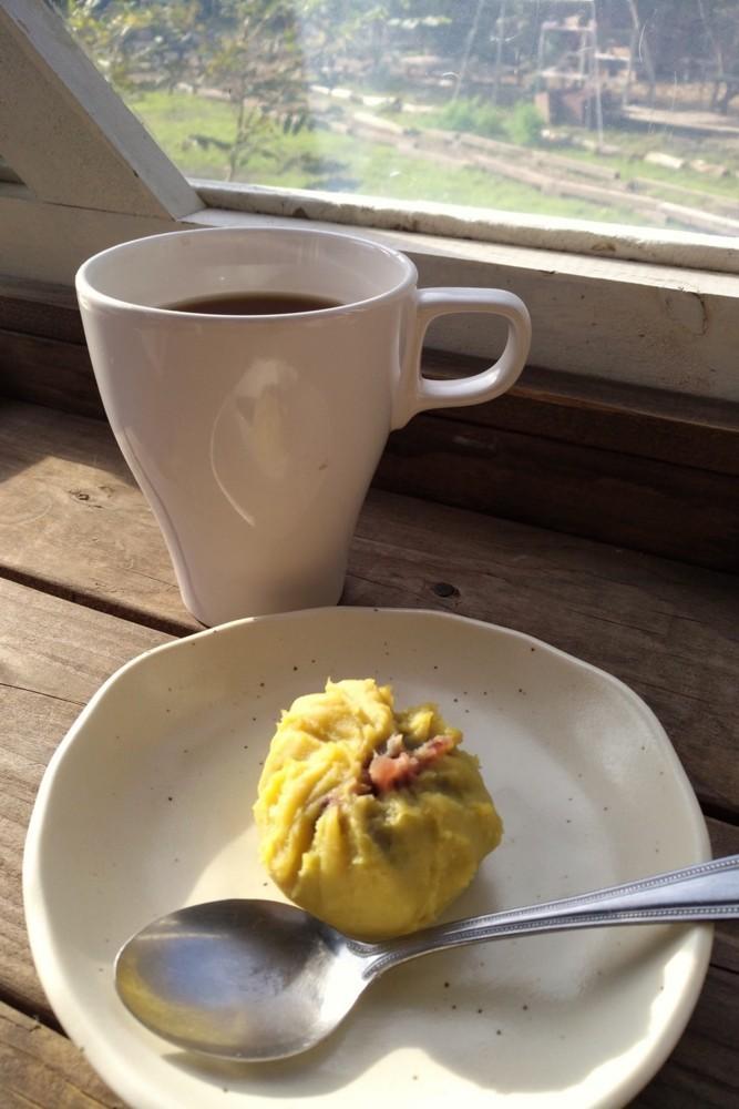 安納芋の茶巾