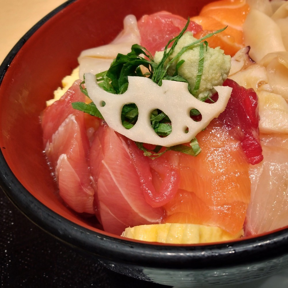 寿司清のまかない丼