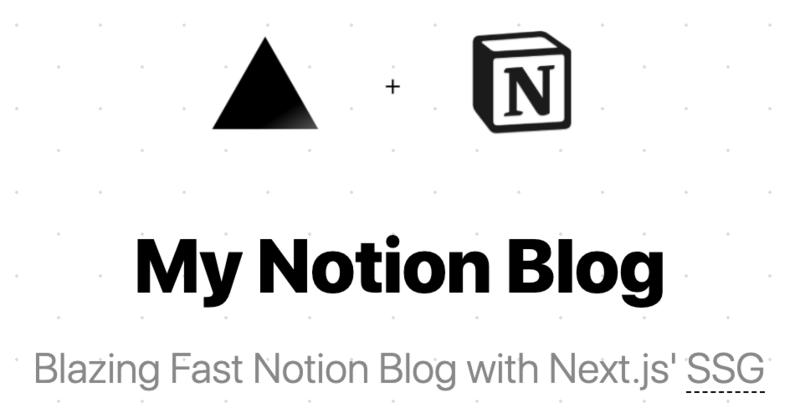 My Notion Blog